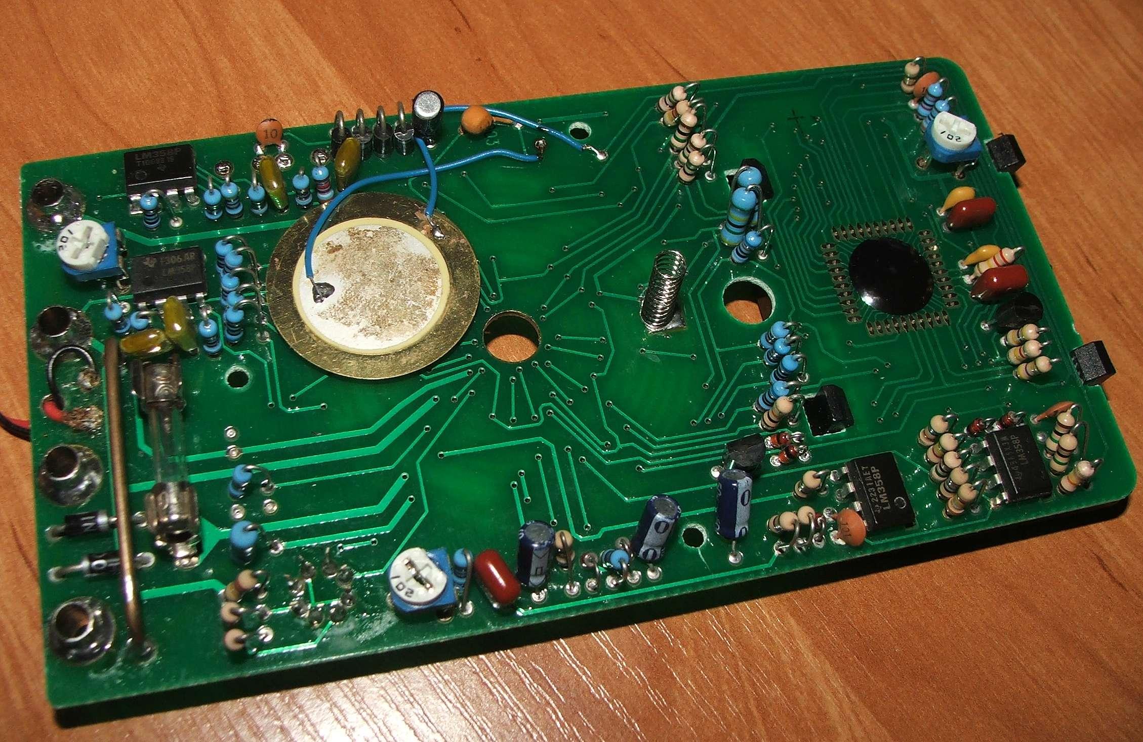схема мультиметра dt830