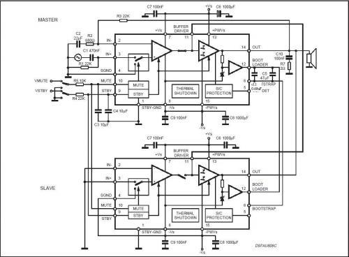 tda7294 мостовая схема - Практическая схемотехника.