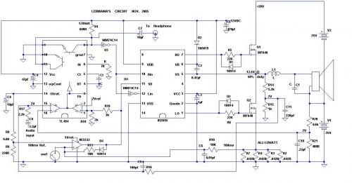 Class D amplifier using TL494.