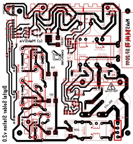 схема инвертора uc3845 - Микросхемы.