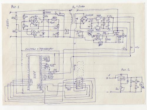 электрическая схема паяльной станции с индикацией температуры.jpg.