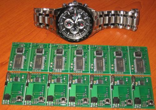 Схема генератора импульсов для