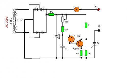 Приставка Автомат К Зу Акб - Зарядные устройства и аккумуляторы - Форум по радиоэлектронике