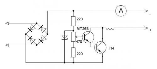 Регулировка тока в зарядном устройстве своими руками