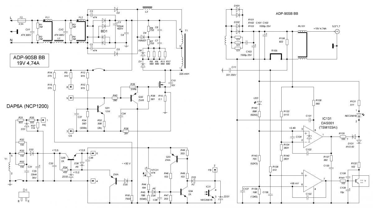 бп регулируемый 0-15 схема
