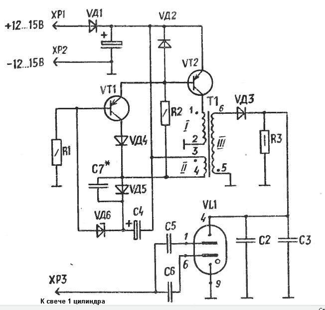 Как работает стробоскоп схема