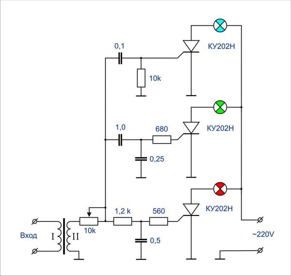 Радиотехника для начинающих схемы светодиоды