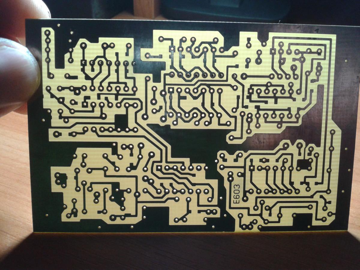 схема для металлоискателя с печатной платой