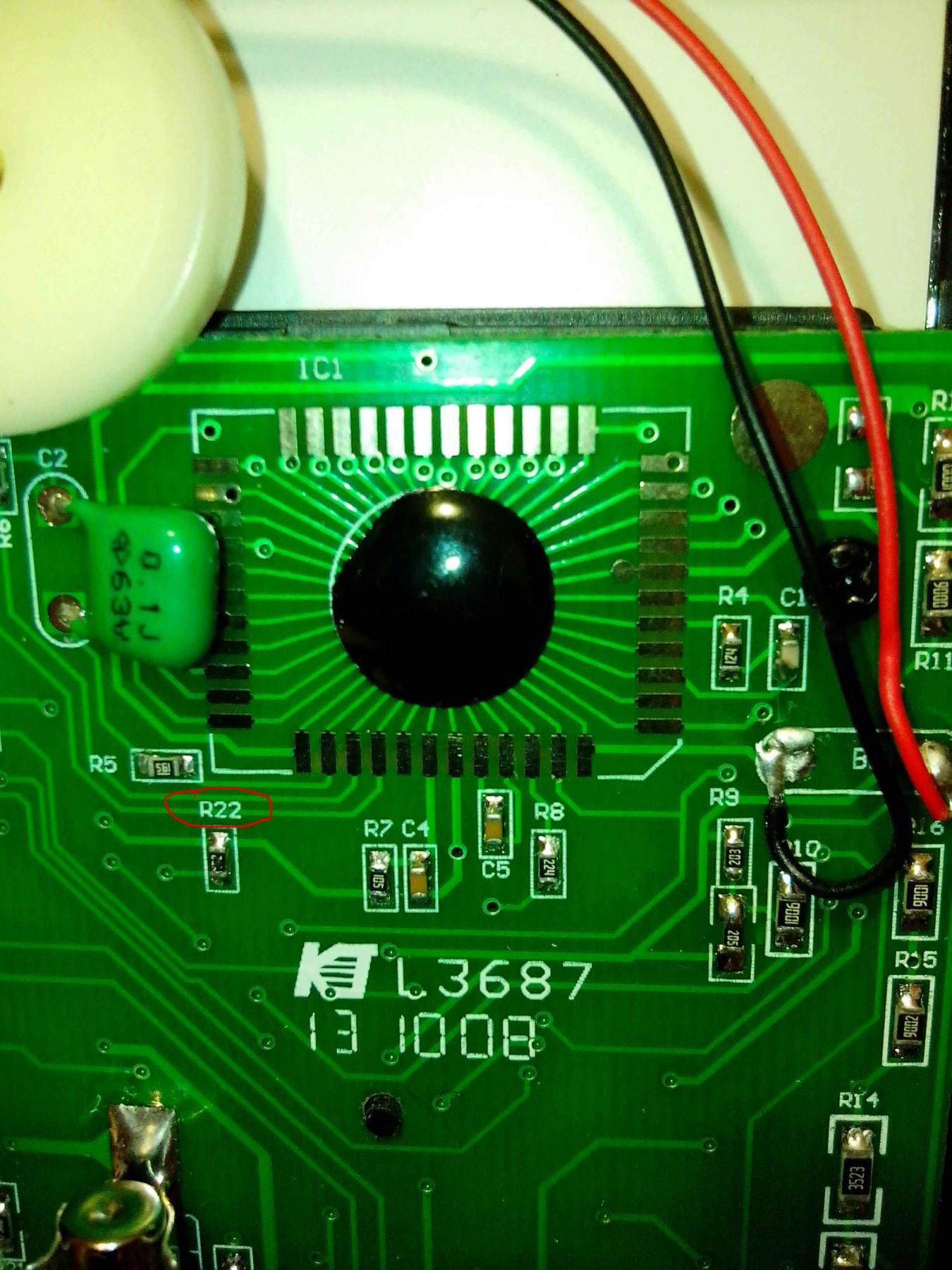Ремонт мультиметра 838 своими руками