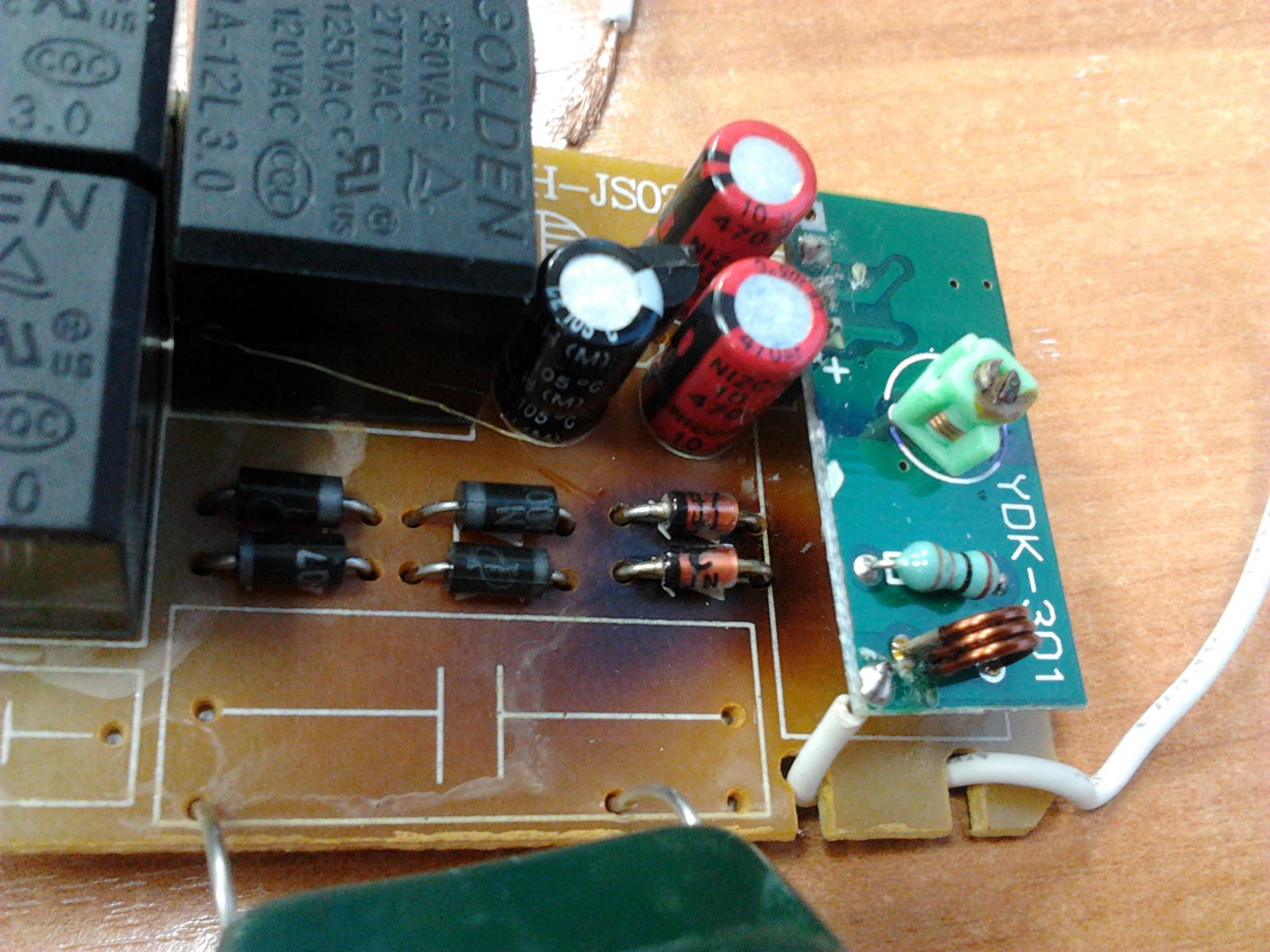 wireless switch y-7e 1000w 3 ремонт схема