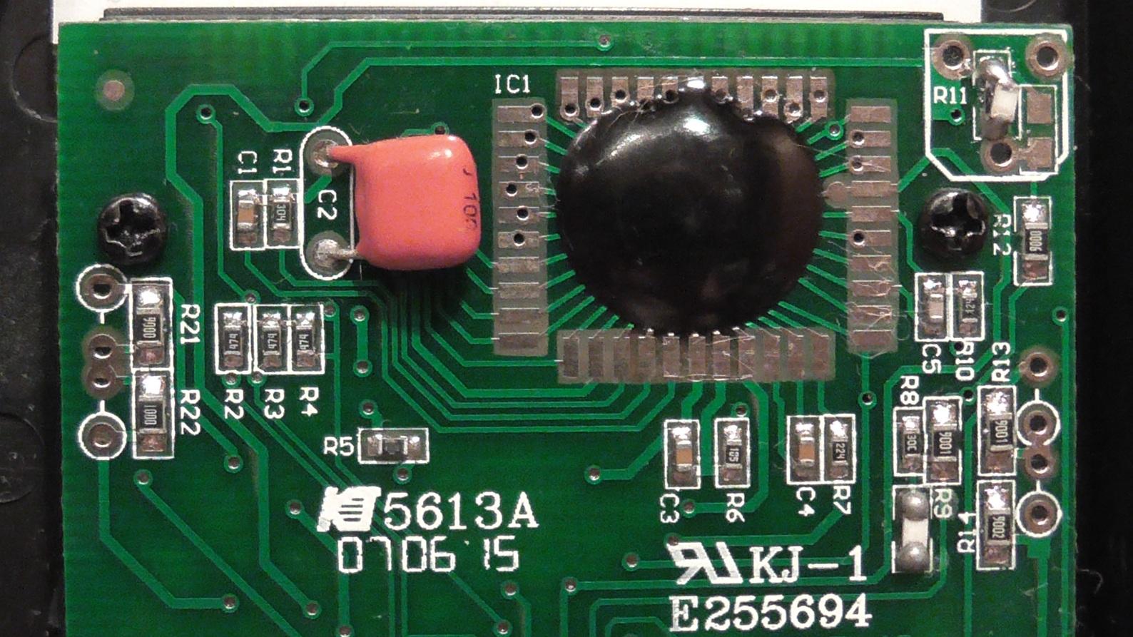 dt-830b мультиметр схема