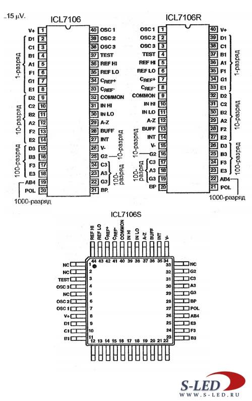 Bp3106 схема включения