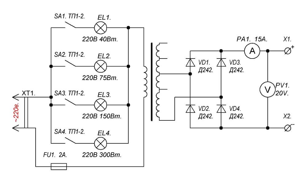 Зарядное устройство для АКБ на лампах.JPG