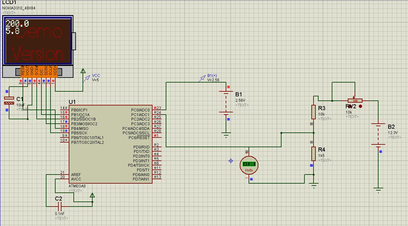 схемы на авр микроконтроллерах текущий