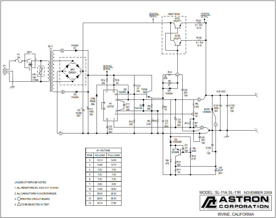 Схема блока питания Astron RS-20 - qrz.ru