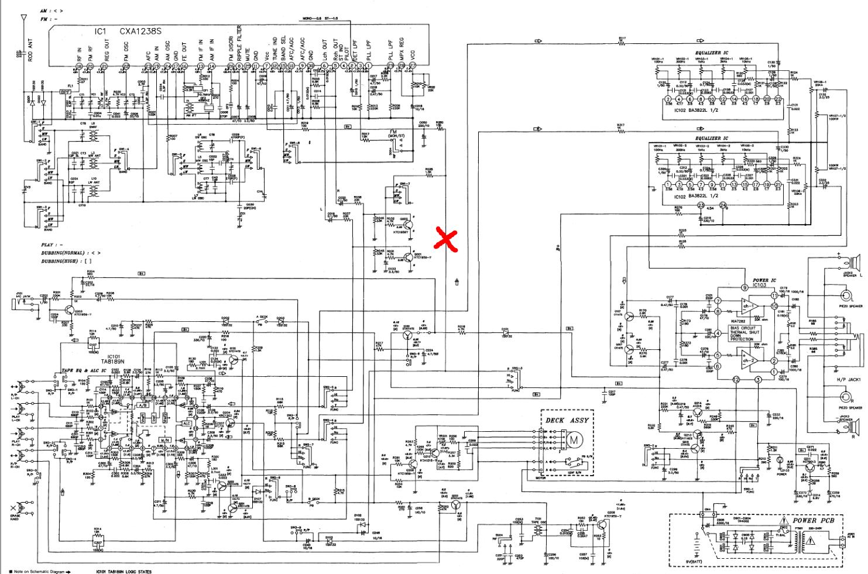cxa 1238 s и её схема