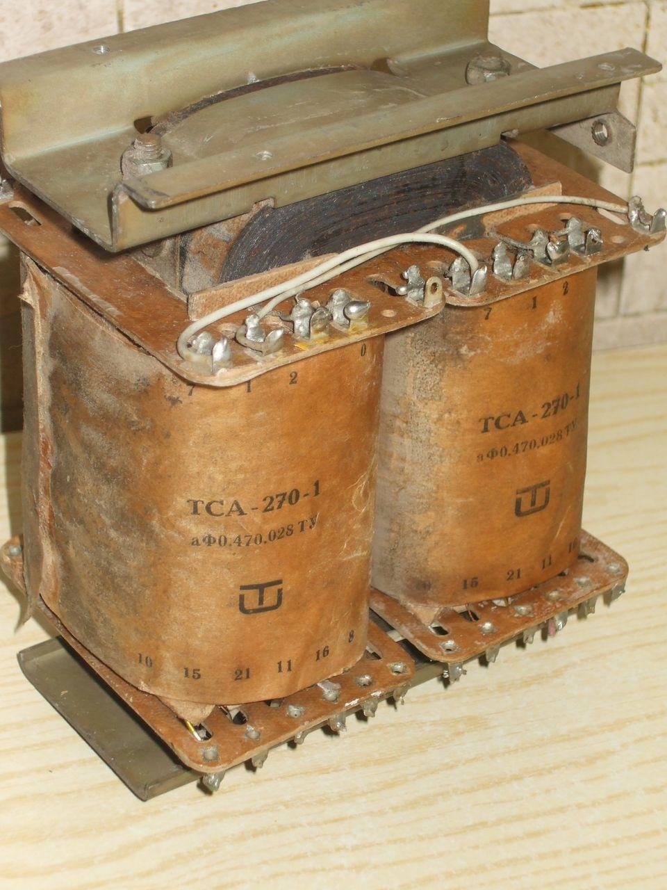 Силовой трансформатор. Расчёт силового трансформатора