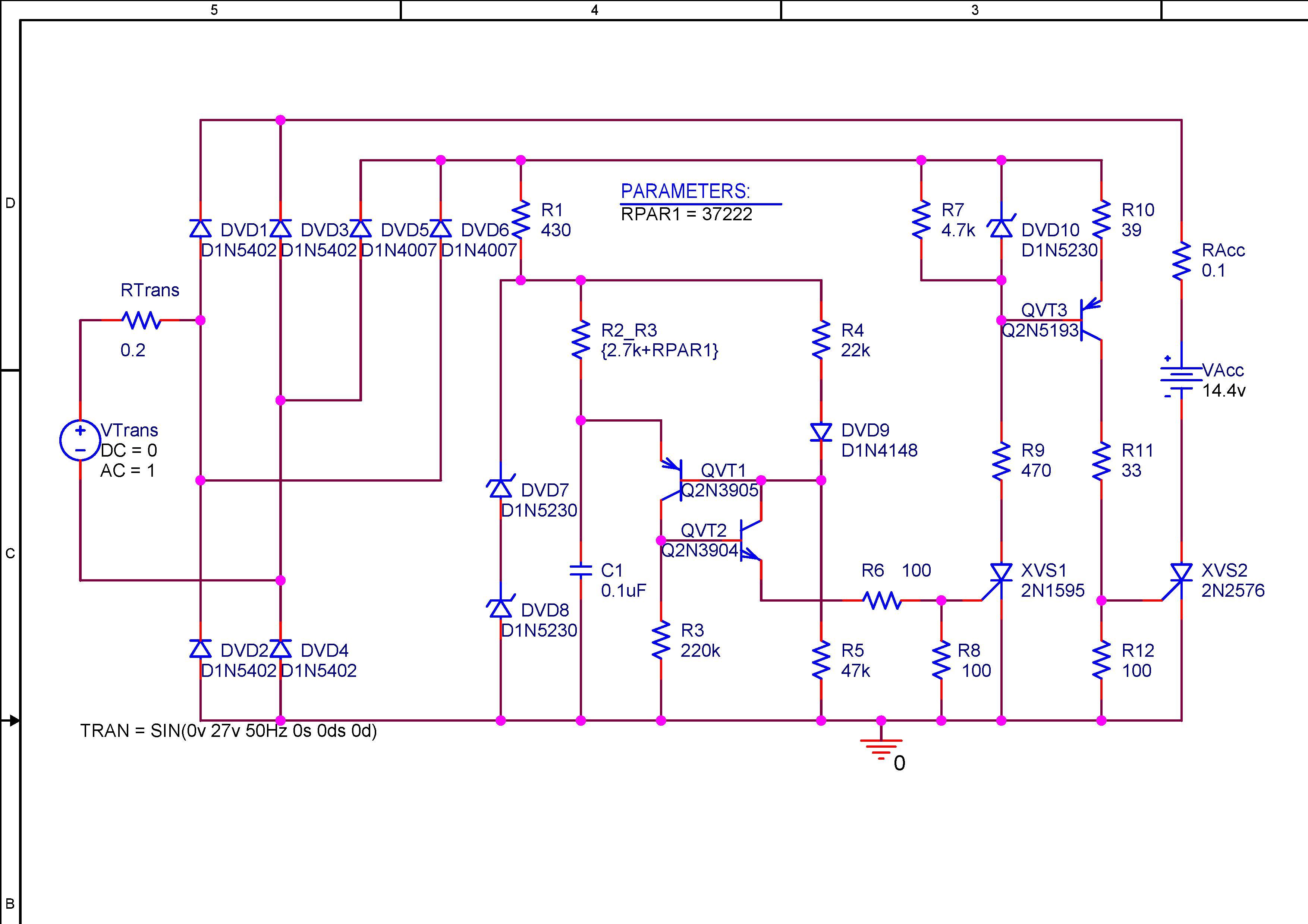 Схема зарядного устройства на 6 в с 12 в