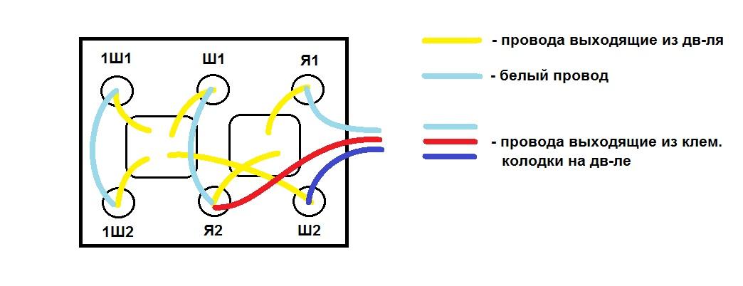 Диодный мост схема подключение к электродвигателям