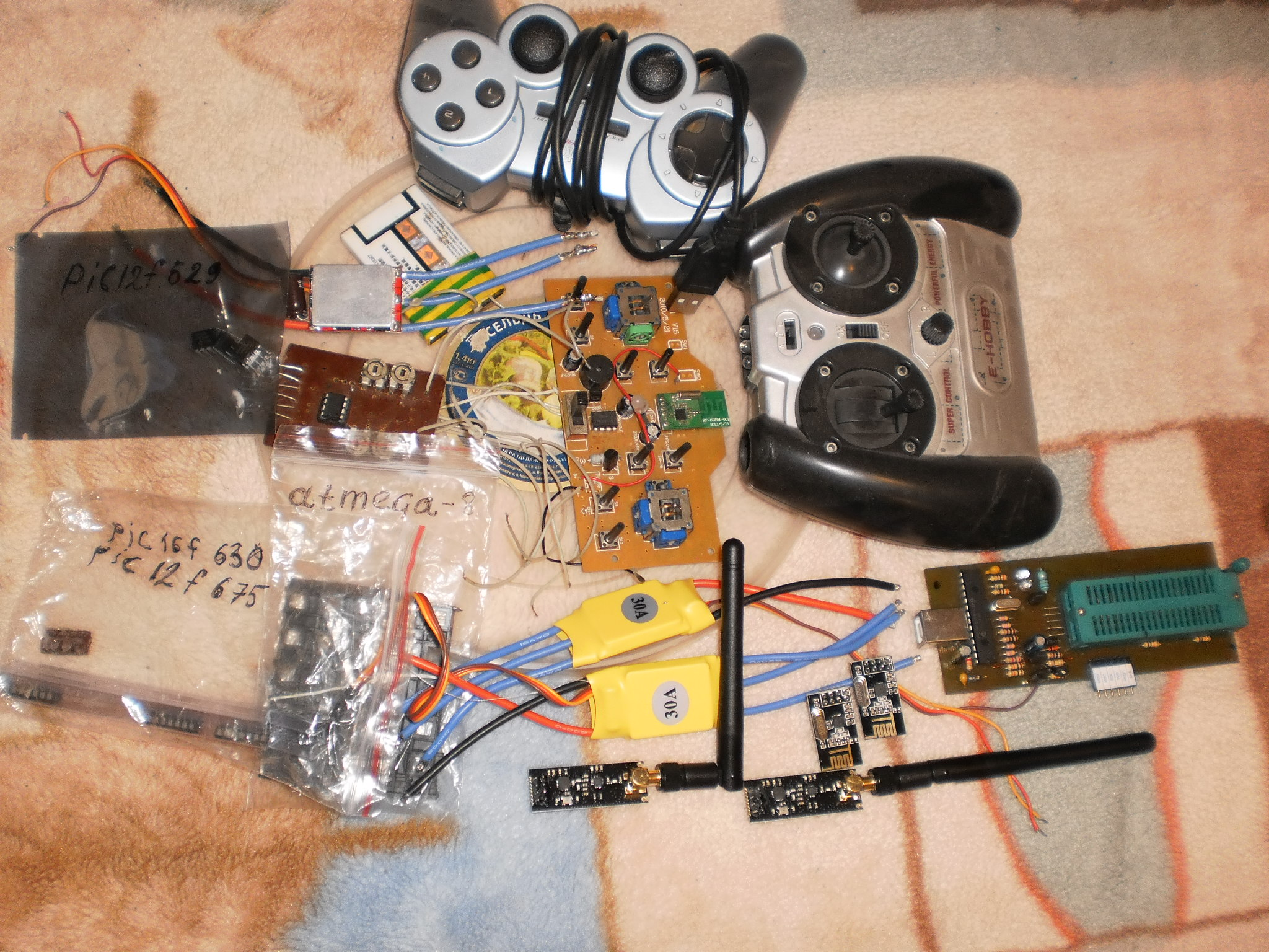 Аппаратура для управления моделями своими руками