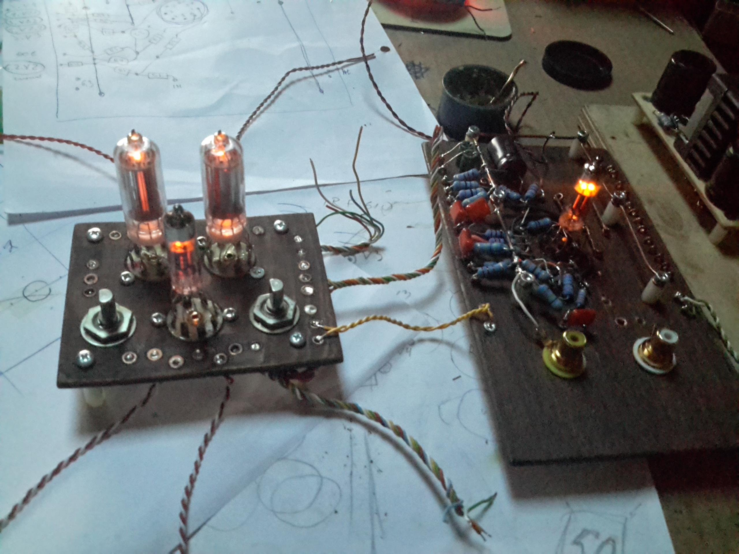 Гапоненко в лампово транзисторные усилители своими руками