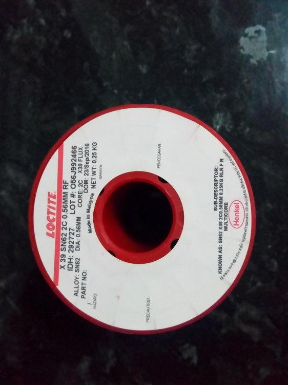 Многоканальный трубчатый припойMulticore (Loctite) с флюсом, не требующим отмывки. Цена 900р за катушку. В наличи (3).jpg