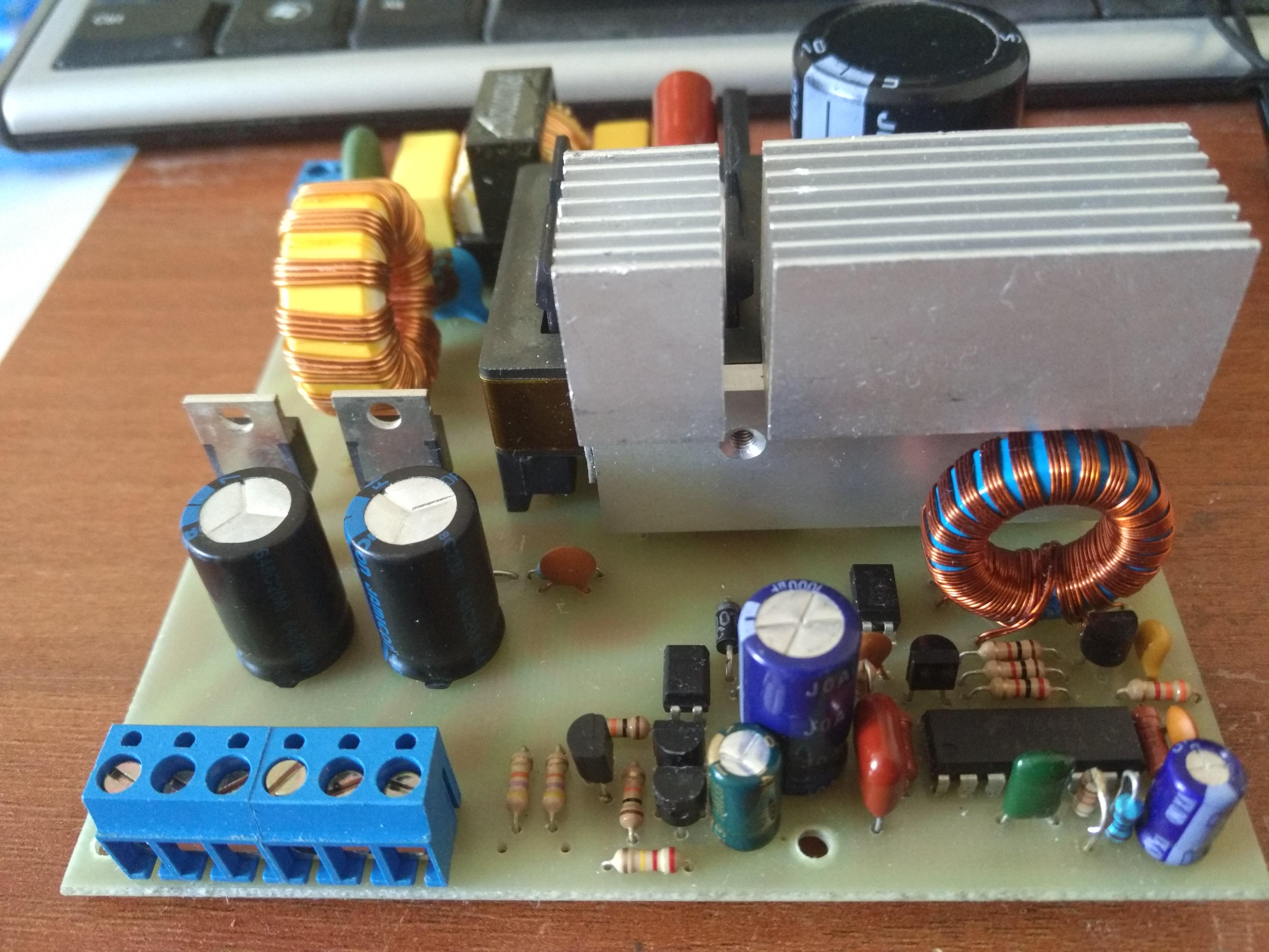 half bridge resonant converter sg3525
