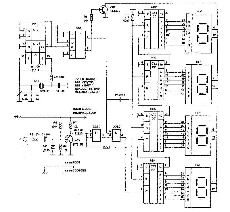 Cd4026be Datasheet Ebook